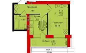 1-комнатная квартира, 42.27 м², 6/8 этаж, Бухар Жырау 40 за 16 млн 〒 в Нур-Султане (Астана), Есиль р-н