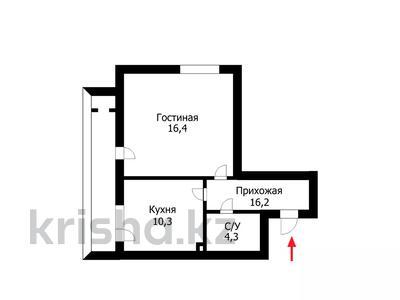 1-комнатная квартира, 30.71 м², 3/6 этаж, Шарбаккол за 8.8 млн 〒 в Нур-Султане (Астана), Алматинский р-н — фото 3