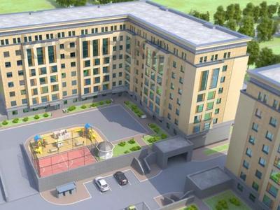 1-комнатная квартира, 30.71 м², 3/6 этаж, Шарбаккол за 8.8 млн 〒 в Нур-Султане (Астана), Алматинский р-н — фото 2