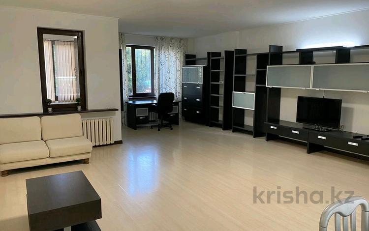 3-комнатная квартира, 150 м² помесячно, Достык 97 за 450 000 〒 в Алматы, Медеуский р-н