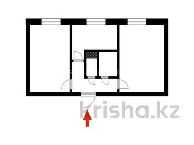 2-комнатная квартира, 47 м², 3/5 этаж, Желтоксан 6 за 12.5 млн 〒 в Нур-Султане (Астана) — фото 13