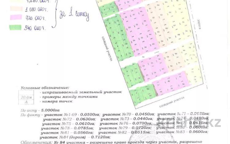 Участок 4 сотки, Кемертоган за ~ 2.2 млн 〒