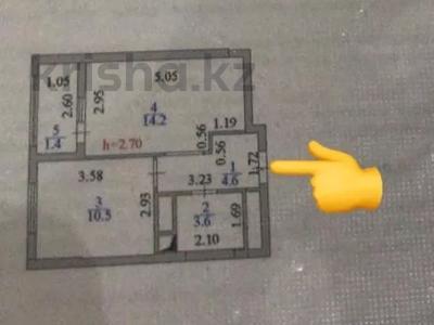 1-комнатная квартира, 34.3 м², 9/18 этаж, 38 — Улы Дала за 13.5 млн 〒 в Нур-Султане (Астана), Есиль р-н — фото 4