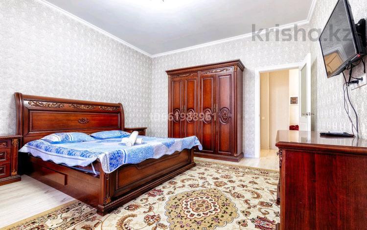 1-комнатная квартира, 45 м² посуточно, Мәңгілік Ел 53 — Улы Дала за 9 000 〒 в Нур-Султане (Астана), Есиль р-н