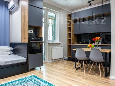 1-комнатная квартира, 50 м², 9/12 этаж посуточно, Алиби Жангелдин 67 за 20 000 〒 в Атырау