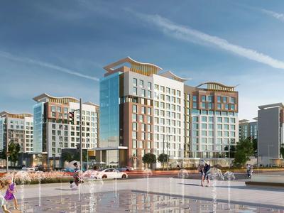 1-комнатная квартира, 48.24 м², Кайыма Мухамедханова 4а за ~ 18.3 млн 〒 в Нур-Султане (Астана) — фото 3