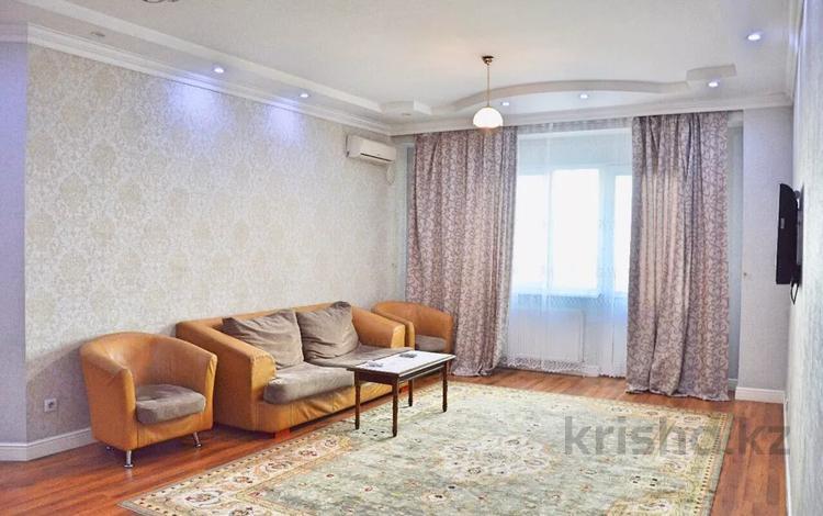 3-комнатная квартира, 140 м², 15/18 этаж посуточно, Шевченко 154 — Муканова за 18 000 〒 в Алматы