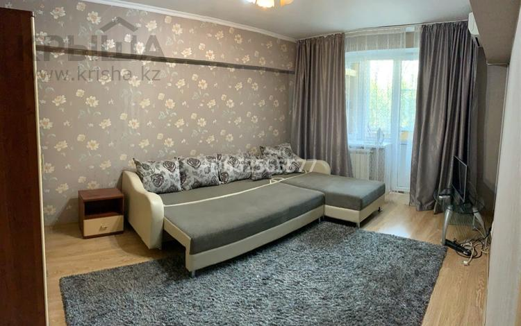 1-комнатная квартира, 40 м², 3 этаж посуточно, Клочкова 169 — Габдуллина за 8 000 〒 в Алматы, Бостандыкский р-н