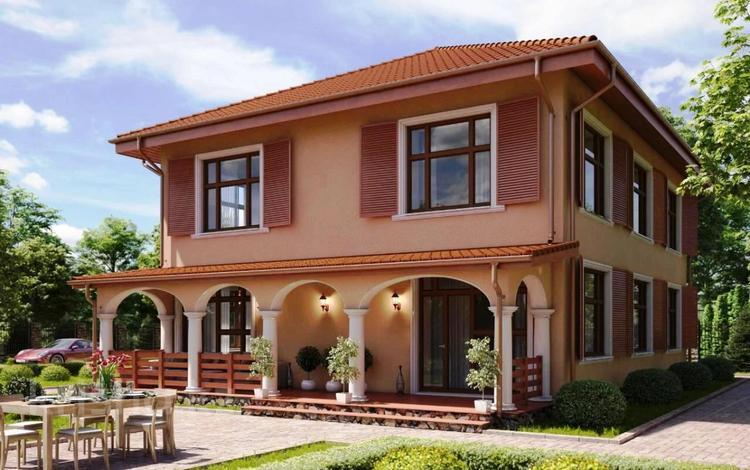 5-комнатный дом, 220 м², 8 сот., Московская область — Лунево за 40.3 млн 〒 в Москве