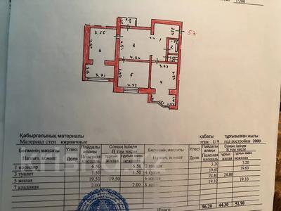 2-комнатная квартира, 96 м², 1/9 этаж, Абая 5 за 32 млн 〒 в Нур-Султане (Астана), Сарыаркинский р-н — фото 5