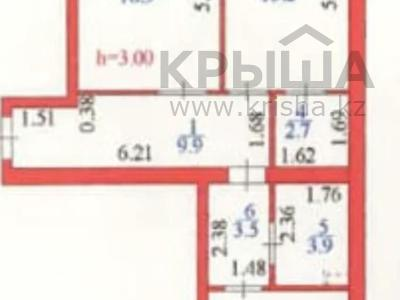 2-комнатная квартира, 65 м², 4/10 этаж, К. Мухамедханова 12 за 24.5 млн 〒 в Нур-Султане (Астана), Есиль р-н — фото 10