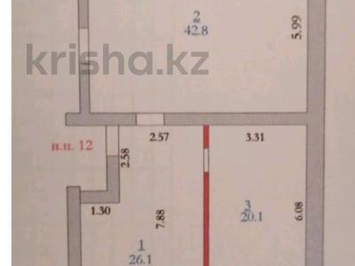 Помещение площадью 89 м², мкр. Батыс-2 56д — Мангилик ел и Молдагулова за 9 млн 〒 в Актобе, мкр. Батыс-2