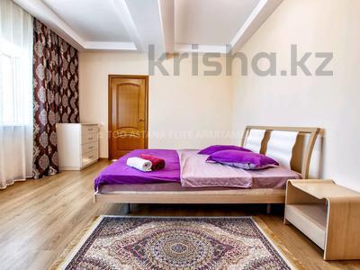 3-комнатная квартира, 145 м², 36/41 этаж посуточно, Достык 5 — Сауран за 16 000 〒 в Нур-Султане (Астана), Есиль р-н — фото 12