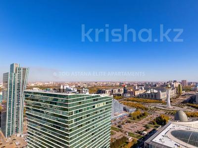 3-комнатная квартира, 145 м², 36/41 этаж посуточно, Достык 5 — Сауран за 16 000 〒 в Нур-Султане (Астана), Есиль р-н — фото 22