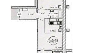 2-комнатная квартира, 58.9 м², 2/10 этаж, Московская за 15.9 млн 〒 в Нур-Султане (Астана), Сарыарка р-н