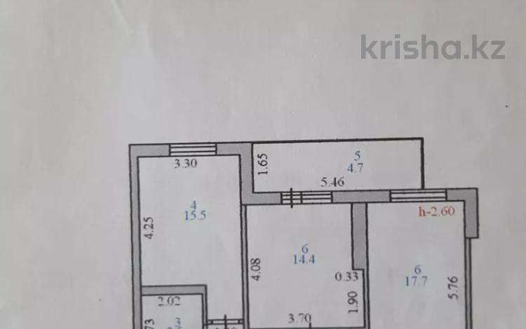 2-комнатная квартира, 66 м², 10/10 этаж, Кумисбекова 8 — Сакена Сейфуллина за 16.5 млн 〒 в Нур-Султане (Астане), Сарыарка р-н