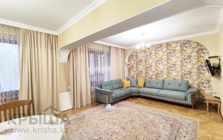 4-комнатная квартира, 130 м², 4/5 этаж, Валиханова 117 — Жамбыла за 81.7 млн 〒 в Алматы, Медеуский р-н