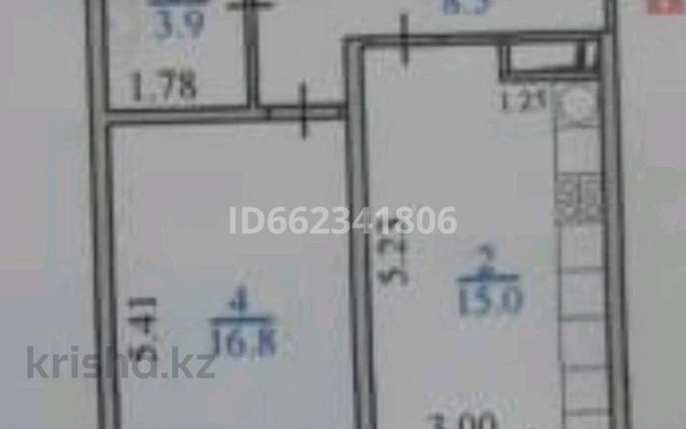 1-комнатная квартира, 46 м², 7/12 этаж, Алатауская трасса 2 за 15.5 млн 〒 в Алматы