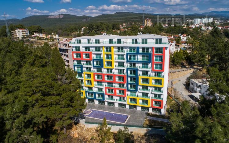 2-комнатная квартира, 38 м², 3/5 этаж, Аланья за ~ 17 млн 〒