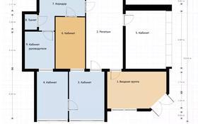 Офис площадью 100 м², Комиссарова 28 — проспект Бухар Жырау за 55 млн 〒 в Караганде, Казыбек би р-н