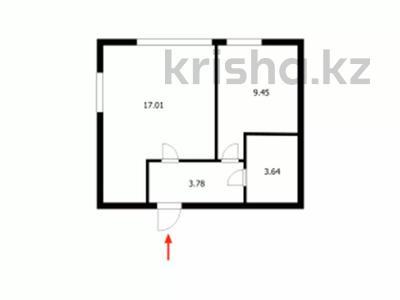 1-комнатная квартира, 40 м², 14/14 этаж, Сарайшык за 13 млн 〒 в Нур-Султане (Астана), Есиль р-н — фото 24