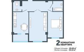 2-комнатная квартира, 65.6 м², 5/5 этаж, 160 квартал за ~ 15.4 млн 〒 в Туркестане