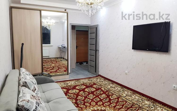 1-комнатная квартира, 40 м², 3/12 этаж помесячно, Сатпаева 90/20 — Тлендиева за 130 000 〒 в Алматы, Бостандыкский р-н