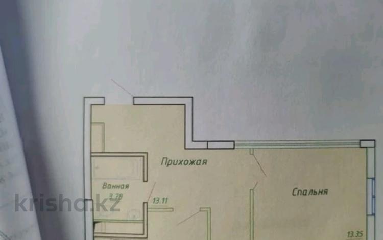 2-комнатная квартира, 65 м², 10/14 этаж, А.Байтұрсынұлы — А 98 за 15.3 млн 〒 в Нур-Султане (Астане), Алматы р-н