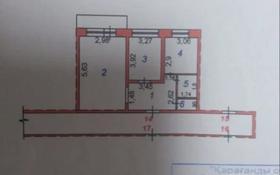 2-комнатная квартира, 51 м², 4/5 этаж, Кирпичная 8а за 11 млн 〒 в Караганде, Казыбек би р-н