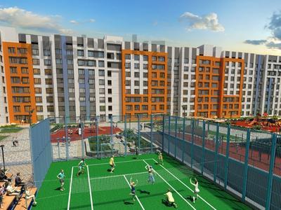 2-комнатная квартира, 57.84 м², 9/9 этаж, Сыганак — проспект Туран за ~ 16.6 млн 〒 в Нур-Султане (Астана), Есиль р-н — фото 2