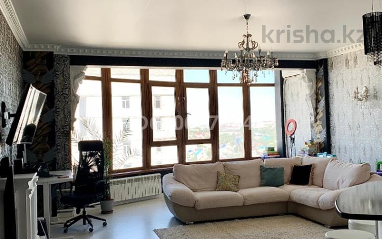 3-комнатная квартира, 120 м², 8/9 этаж, 12-й мкр 38 за 25.5 млн 〒 в Актобе, мкр 12