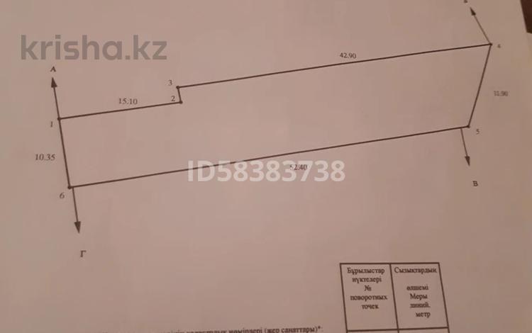 2-комнатный дом, 39.2 м², 6.5 сот., Партизанская 26 за 7 млн 〒 в Уральске