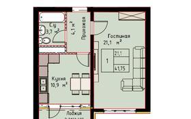 1-комнатная квартира, 41.75 м², 2/3 этаж, мкр Сарыкамыс-2, Мкр Сарыкамыс-2 за ~ 7.1 млн 〒 в Атырау, мкр Сарыкамыс-2