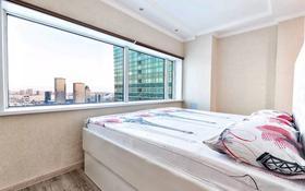 1-комнатная квартира, 42 м², 26/41 этаж посуточно, Достык 5 — Достык сауран за 12 000 〒 в Нур-Султане (Астана), Есиль р-н