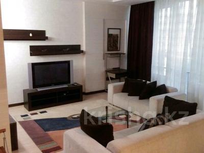 2-комнатная квартира, 80 м², 12 этаж помесячно, Достык 160 — Жолдасбекова за 270 000 〒 в Алматы, Медеуский р-н