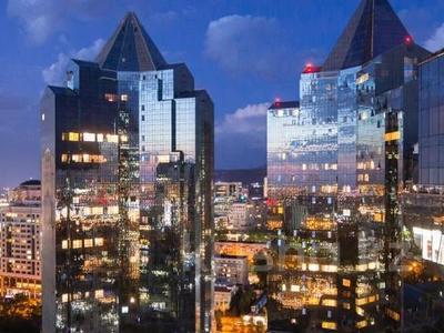 3-комнатная квартира, 170 м², 14/30 этаж посуточно, Аль-Фараби 7 — Козыбаева за 40 000 〒 в Алматы — фото 45