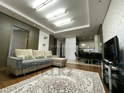 2-комнатная квартира, 72 м² помесячно, Байтурсынова 1 за 200 000 〒 в Нур-Султане (Астана)