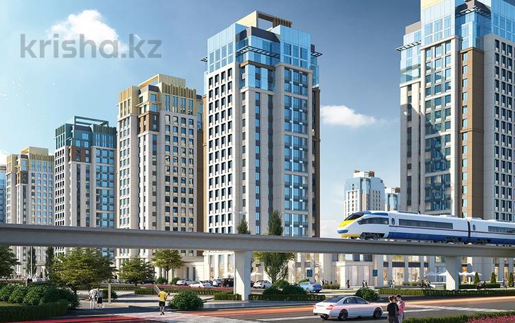 4-комнатная квартира, 132 м², Кабанбай Батыра — Улы Дала за ~ 63.3 млн 〒 в Нур-Султане (Астане), Есильский р-н
