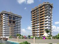 2-комнатная квартира, 51 м², 2/13 этаж, Махмутлар FOA HILLS за 26 млн 〒 в