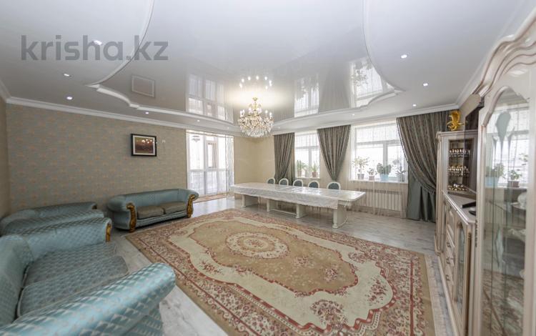 4-комнатная квартира, 176.7 м², 5/6 этаж, Коргалжынское шоссе 11 за 76 млн 〒 в Нур-Султане (Астана), Есиль р-н
