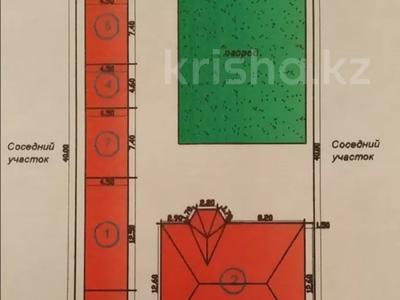 7-комнатный дом, 179 м², 10 сот., Жайна 7 — Асанбай ата за 21 млн 〒 в Туркестане