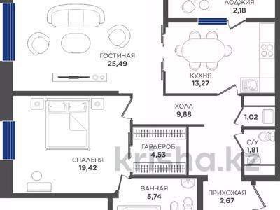 2-комнатная квартира, 82 м², Туран 22 за ~ 41.7 млн 〒 в Нур-Султане (Астана), Есиль р-н — фото 33
