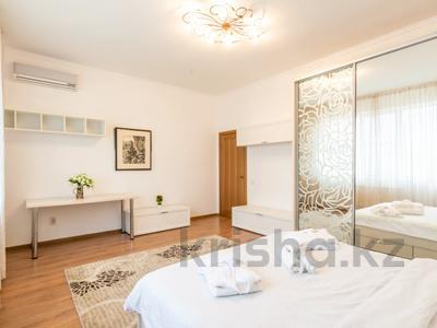 3-комнатная квартира, 110 м², 16/18 этаж посуточно, Навои 208 — Торайгырова за 20 000 〒 в Алматы — фото 3