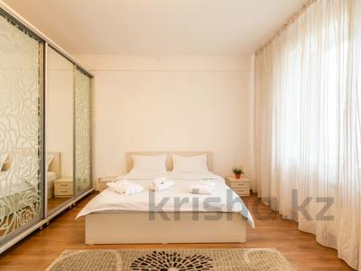 3-комнатная квартира, 110 м², 16/18 этаж посуточно, Навои 208 — Торайгырова за 20 000 〒 в Алматы