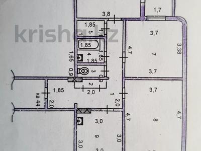 3-комнатная квартира, 72.7 м², 8/12 этаж, Тамерлан тас жолы 1А — Желтоксан за 21 млн 〒 в Шымкенте, Абайский р-н
