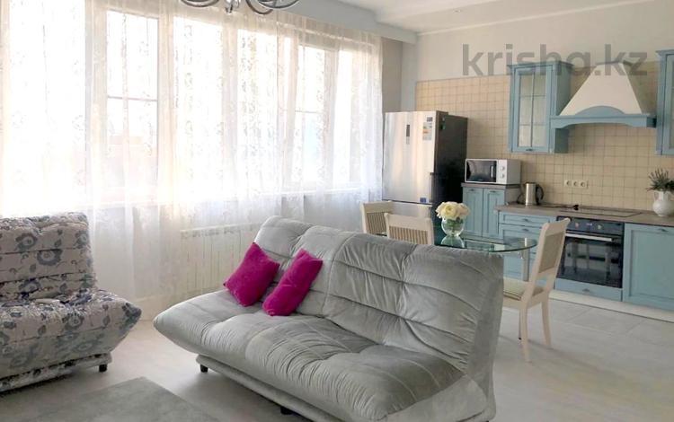 2-комнатная квартира, 80 м² помесячно, Аль-Фараби 21 за 385 000 〒 в Алматы, Бостандыкский р-н