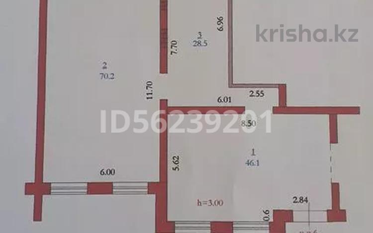 Помещение площадью 150 м², Бокенбай Батыра 131к1 за 400 000 〒 в Актобе