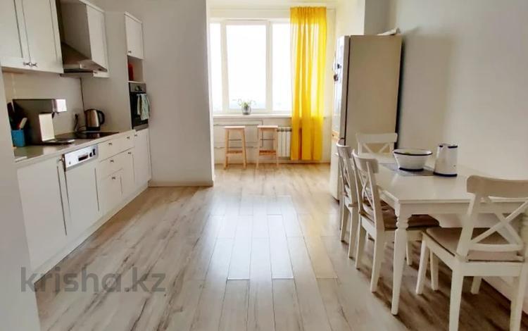 3-комнатная квартира, 131 м², 11/21 этаж, проспект Аль-Фараби за 95 млн 〒 в Алматы, Бостандыкский р-н