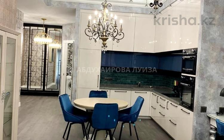2-комнатная квартира, 91 м² помесячно, мкр Юбилейный, Омаровой 37 — Ондасынова за 850 000 〒 в Алматы, Медеуский р-н