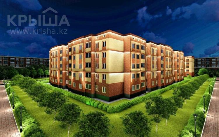 3-комнатная квартира, 76.8 м², Батыс 2 за ~ 9.2 млн 〒 в Актобе, мкр. Батыс-2